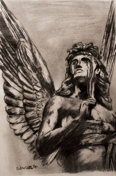 angel stone... pencil