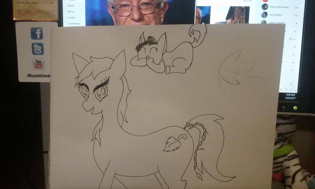 My Lilly Pony by Cadara001