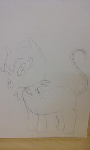 Doom Kitty by Cadara001