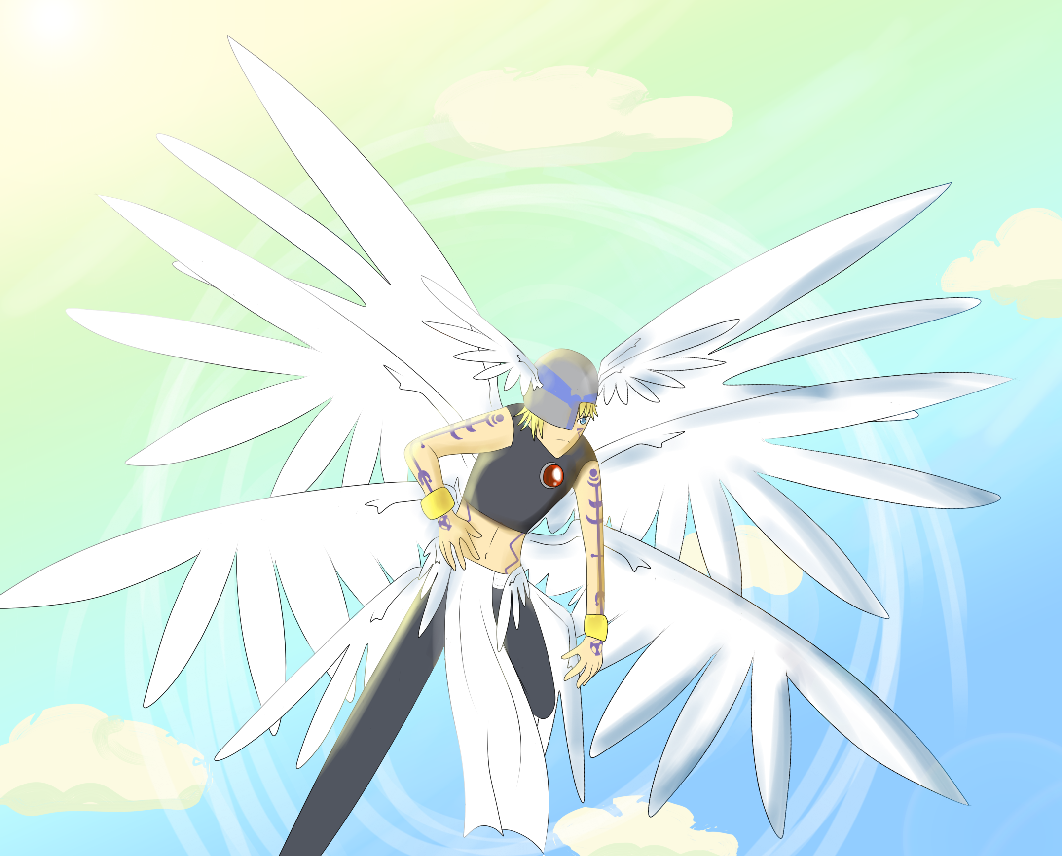 Lucemon Holy Mode by 13ulbasaur