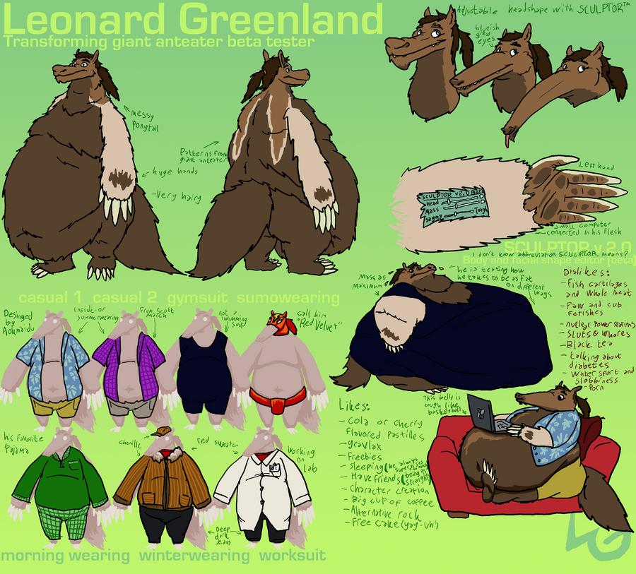 Leonard Greenland ref 2011 by LeonardGreenland