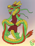 Skipping dragon
