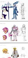 Pokemon Gijinka Sketchdump