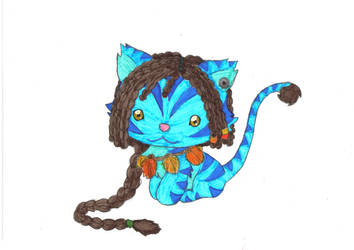 na'vi CAT by Prettybluecat