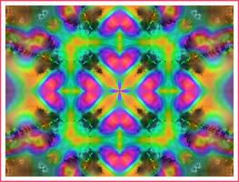 Psychedelic Heart by Fleur555