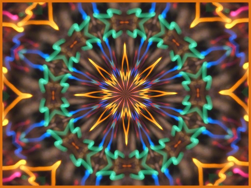 Xmas Lights Kaleidoscope by Fleur555 on DeviantArt