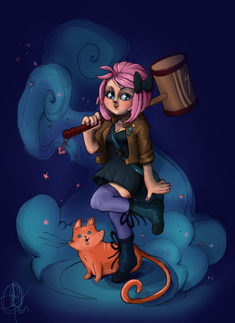 Ramona Flowers by MeCardinal