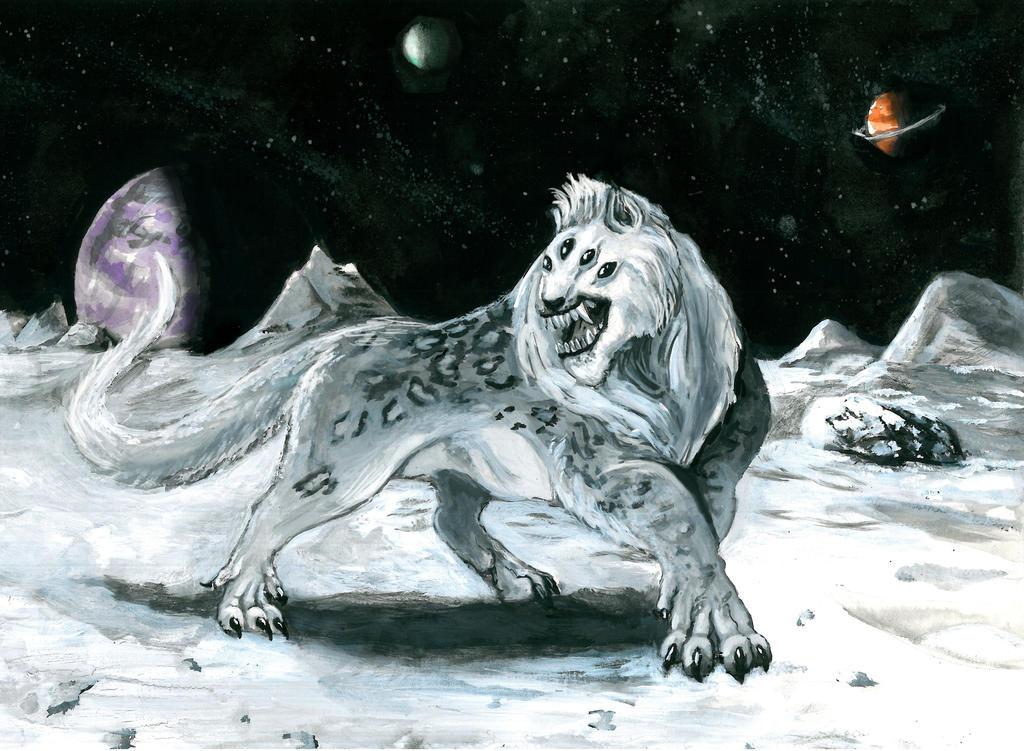scifi snow leopard by mely val on deviantart. Black Bedroom Furniture Sets. Home Design Ideas