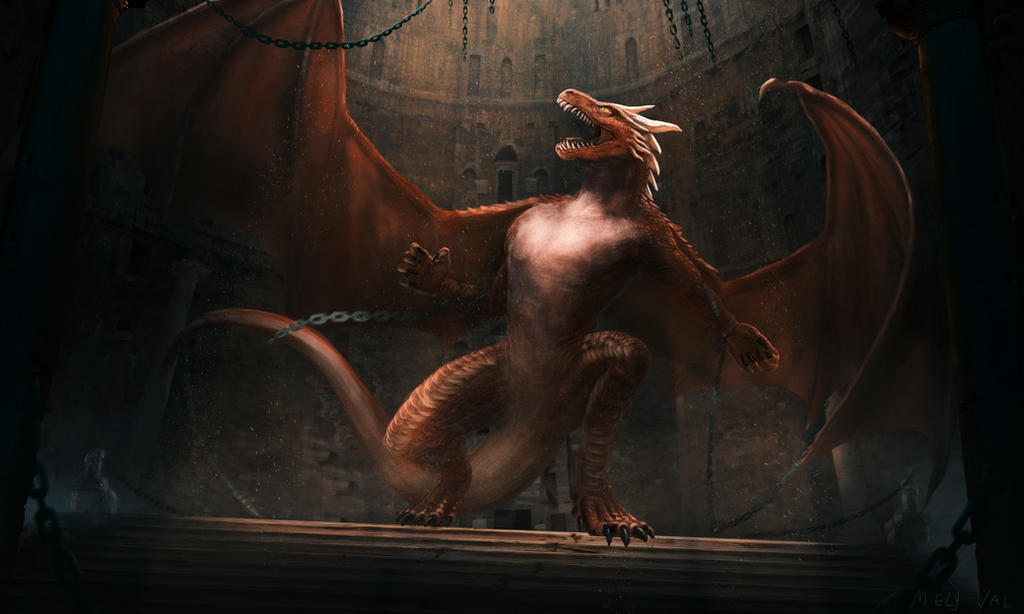 Dragones Wacom by Mely-Val