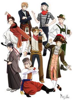Hetalia typical clothes