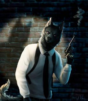 Detective wolf