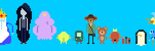 Adventure Time 8bit cast 2