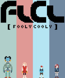 FLCL Poster by supajackle