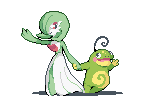 Gardevoir and Politoed by supajackle