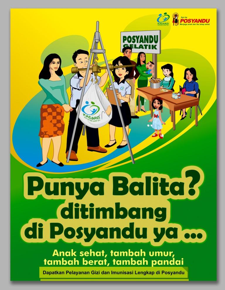 Download 66+ Gambar Poster Posyandu Keren Gratis