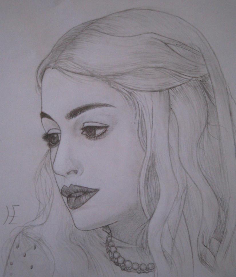 Anne Hathaway-White Queen By Mimil-the-Death On DeviantArt