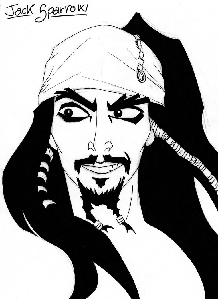 Jack Sparrow by Femkeneri