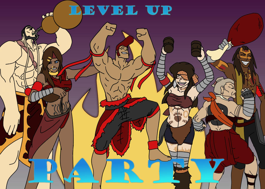 Dante Lvl Up to 1 by Greg-M