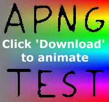 Animated PNG (no auto-animate)24bit RGB+8bit alpha