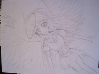 Anime angel WIP by mangajustice