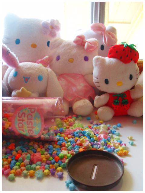 Sanrio Plushies by blushing