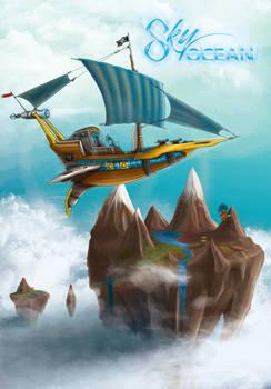 Sky Ocean - Horus Airship