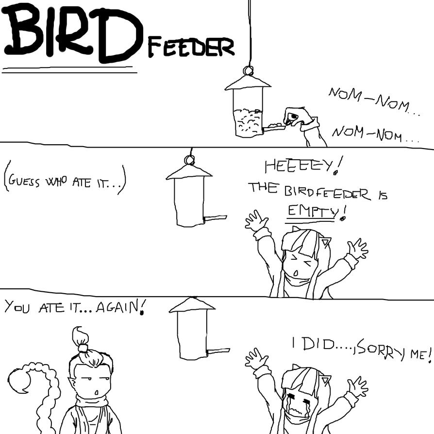 bird feeder by sontaichou