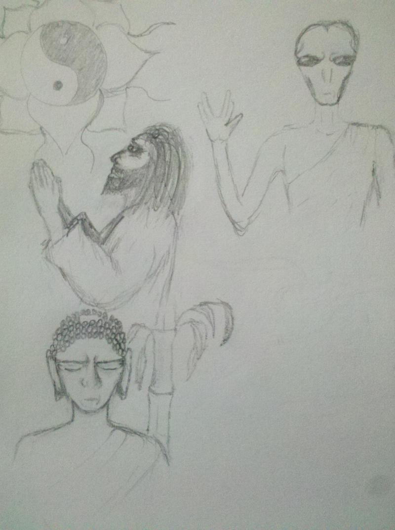 Alien Spiritual by Coelophysis83