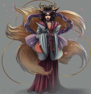 Geisha by Elowly