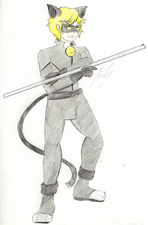 Chat Noir by ChibiAndyChan