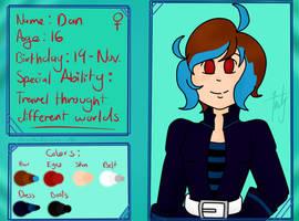 Character Short Profile: Dan by ChibiAndyChan