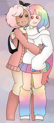 -1st Place Prize- Sweet Friends (3/3) by ChibiAndyChan