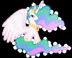 Princess Celestia by Psyxofthoros