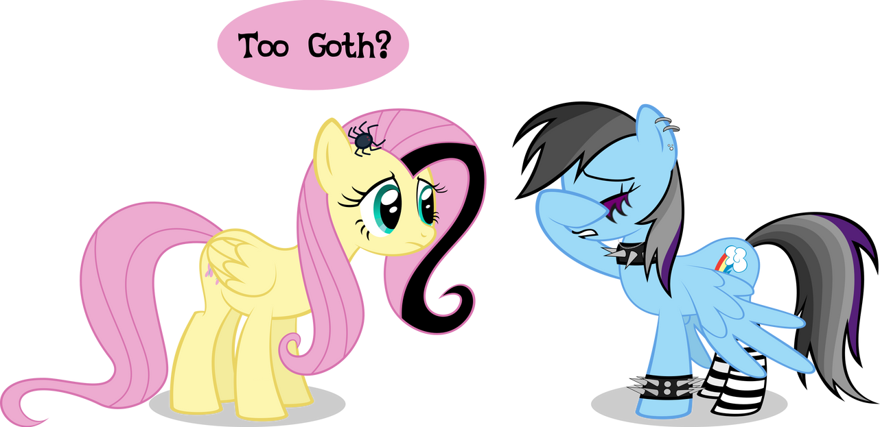 My Little Goths by Psyxofthoros