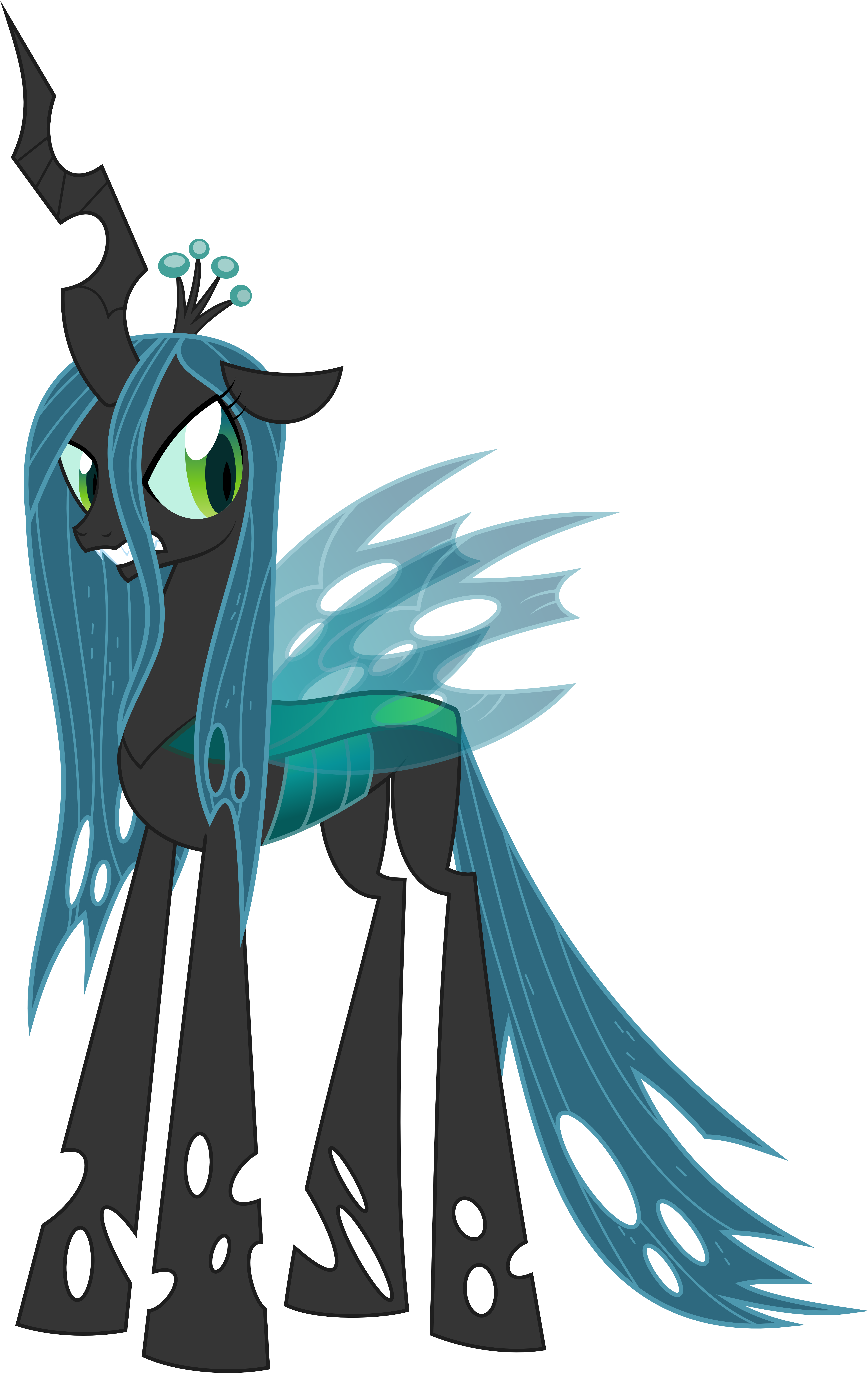 Chrysalis, Queen of the Changelings by Psyxofthoros on ...