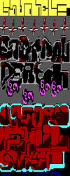 ANSI - 'ETERNAL DEATH' by mysusascii