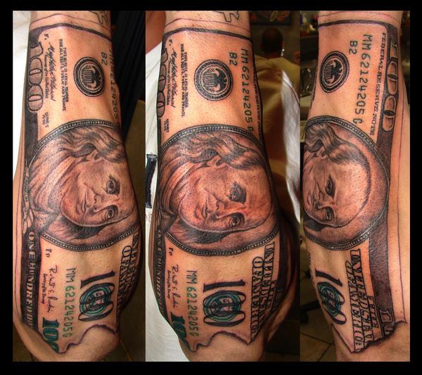 Tattoo Designs Under 100 Dollars: 100 Dollar Bill By Asussman On DeviantArt