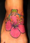 flower n frog