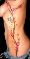 Another Cherry Blossom tattoo