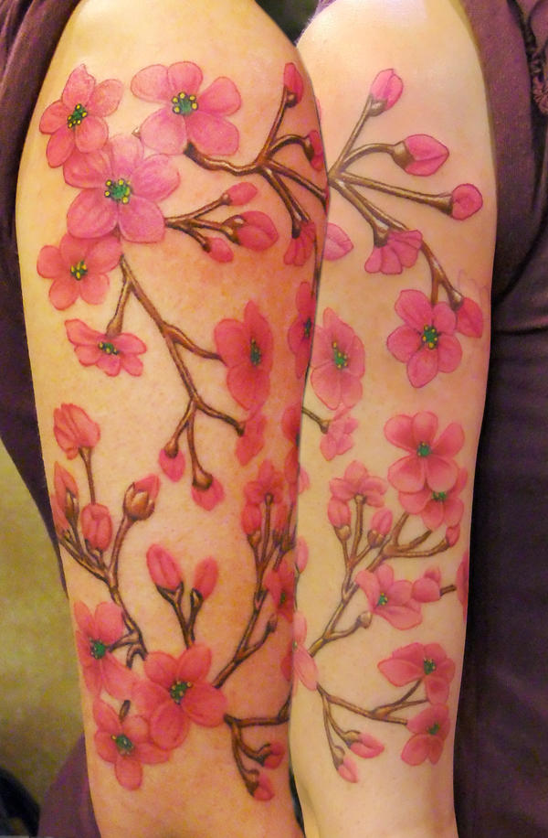 Cherry Blossom Arm by asussman on DeviantArt