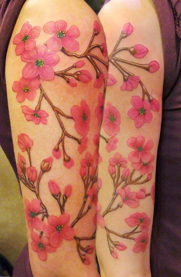 Cherry Blossom Arm by asussman