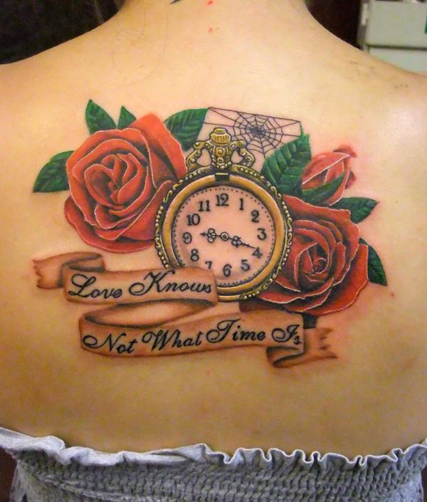 clock n roses by asussman