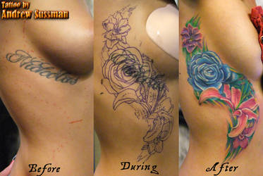 Flower Cover Up 3 by asussman