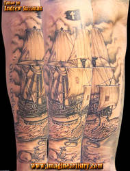 Pirate Ship 3 by asussman