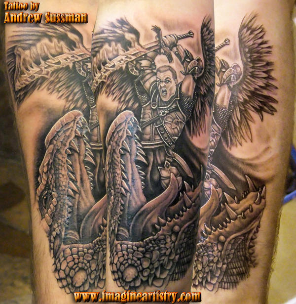 St. Michael warrior