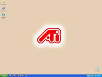 ATi Desktop by CanadianNightmare