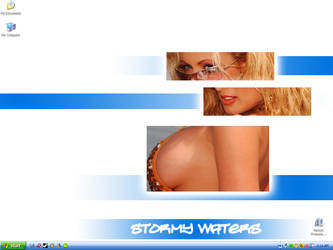 A Stormy Desktop by CanadianNightmare