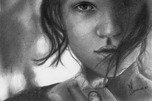 Pencil Portrait by Dorcyy