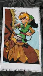legend of Zelda Link and Epona Cross Stitch