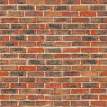 Stained brick wall - seamless texture by Strapaca